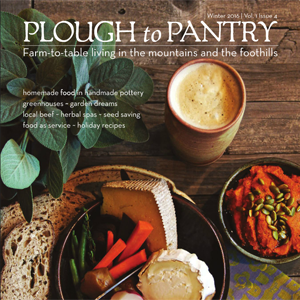 Easement property Ridgefield Farm featured in Plough to Pantry magazine