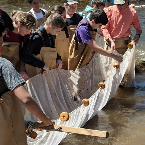 The Franklin Press: Eighth Graders Get River Education
